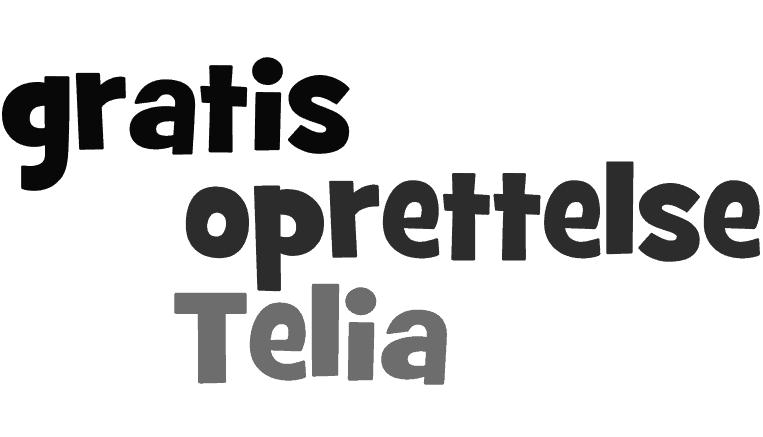 Gratis oprettelse Telia